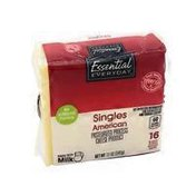 Essential Everyday American Singles Pasteurized Process Cheese Product