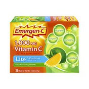 Emergen-C Vitamin C Lite Citrus Flavored Fizzy Drink Mix