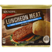 Roundy's Meat, Luncheon, Pork