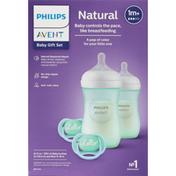 Philips Baby Gift Set, Natural, 1m+