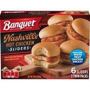 Banquet Nashville Hot Chicken Sliders Twin Pack