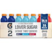 Gatorade Thirst Quencher, Grape/Glacier Freeze/Fruit Punch, 35 Pack