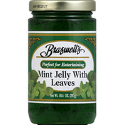 Braswell's Jelly, Mint with Leaves