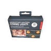 Kikkerland Moroccan Lantern String Light