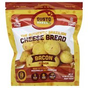 Gusto Brazil Cheese Bread, Brazilian, Authentic, Bacon