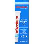 AfterBurn Pain Relief Gel, Advanced