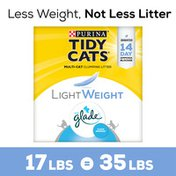 Purina Tidy Cats Low Dust, Multi Cat, Clumping Cat Litter, LightWeight Glade Clear Springs
