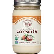 La Tourangelle Coconut Oil, Organic, Refined