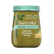 Beech-Nut Naturals Superblends Banana, Chickpea & Kale