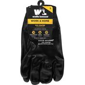 Wells Lamont Gloves, PVC Coated, Large