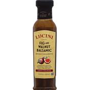 Lucini Vinaigrette, Artisan, Fig and Walnut Balsamic