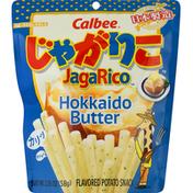 Calbee Flavored Potato Snack, Hokkaido Butter