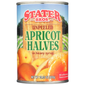 Stater Bros. Markets Unpeeled Apricot Halves In Heavy Syrup