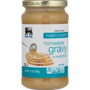 Food Lion Gravy, Turkey Flavored, Homestyle
