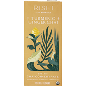 Rishi Tea Chai Concentrate, Organic, Turmeric Ginger