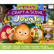 PAAS Egg Decorating Kit, Jungle, Craft-a-Scene