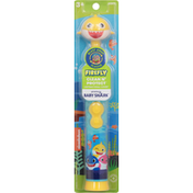 Firefly Toothbrush with Cap, Powered, Baby Shark, Soft