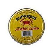 Fresh Jumbo Lump Crab Meat