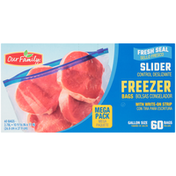 Our Family Slider Freezer Bag Mega Pack