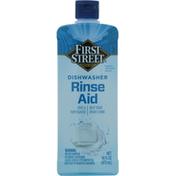 First Street Rinse Aid, Dishwasher