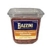 Bazzini Unsalted Dry Roasted Almonds