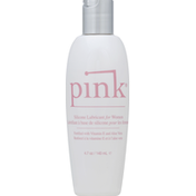 Luster's Pink Lubricant, Silicone, for Women