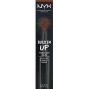 NYX Professional Makeup Brow Filler, Powder, Espresso BUBP06