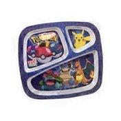 3 Section Plate Zak De Pokemon