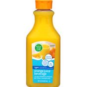 Food Club Juice Beverage, Light, Orange