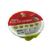 Minsley Organic COOKED STEEL CUT OATMEAL