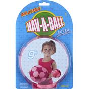 Toysmith Hav-A-Ball, Inflatable, 9 Inch