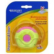 Westcott Sharpener & Eraser