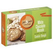 Jen & Joes Cookie Dough, Ready-to-Bake, White Chocolate Wasabi