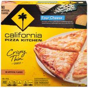 California Pizza Kitchen Four Cheese Crispy Thin Crust Pizza