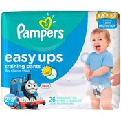 Pampers Pants Pampers Easy Ups Training Pants Boys Size 4 2T/3T 26 Count Diapers