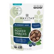 Navitas Organics Power Snacks, Blueberry Hemp, Bite-Sized