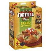 Perfect Tortilla Pan Set