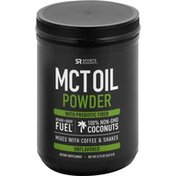 Sports Research Corporation MCT Oil Powder, with Prebiotic Fiber, Unflavored