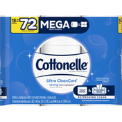 Cottonelle Ultra CleanCare Mega Roll Toilet Paper Bath Tissue