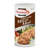 Manischewitz Matzo Meal, Whole Grain, Unsalted