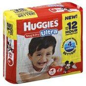 Huggies Snug & Dry Ultra Size 4 Diapers