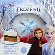 Carvel Ice Cream Cake, Frozen II, Vanilla & Chocolate