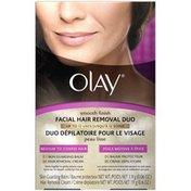 Olay Smooth Finish Medium to Coarse Hair 2 Pcs Facial Hair Removal