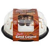 Friendly's Ice Cream Cake, Premium, Salted Caramel Truffle Cake