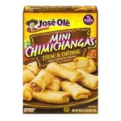José Olé Mini Chimichangas Steak & Cheddar