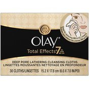 Olay Total Effects Olay Total Effects Lathering Cleansing Face Wipes 30 Count  Female Skin Care