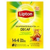 Lipton Decaf Tea Bags Black Tea