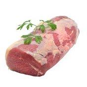 Choice Beef Eye Of Round Roast Thin Cut Steak