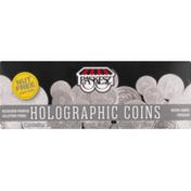 Paskesz Dark Chocolate, Belgian, Premium, Holographic Coins