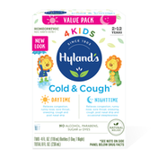 Hyland's 4 Kids Cold 'n Cough, Day/Night Value Pack